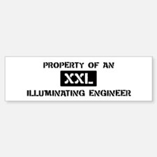 Property of: Illuminating Eng Bumper Bumper Bumper Sticker