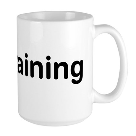 DJ In Training Large Mug