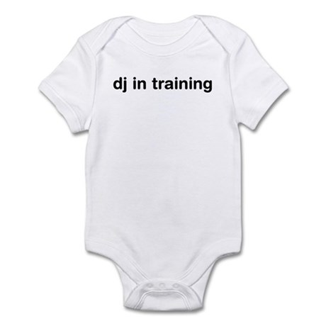 DJ In Training Infant Bodysuit