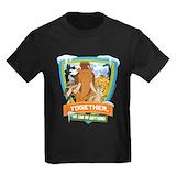 Iceagemovie Kids T-shirts (Dark)