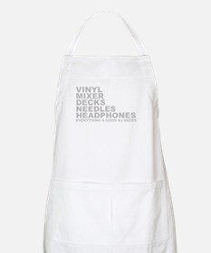 Everyting A Good DJ Needs BBQ Apron