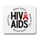 HIV/AIDS Mousepad