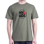 HIV/AIDS Dark T-Shirt