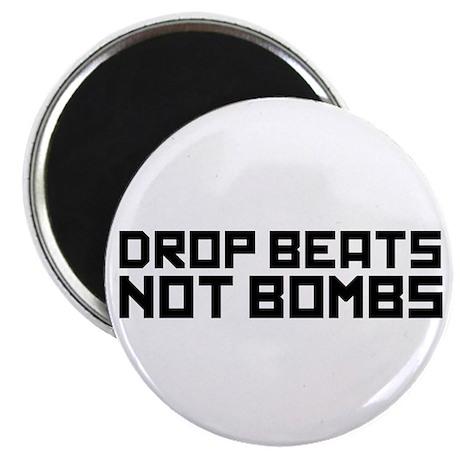 Drop Beats Not Bombs 3 Magnet