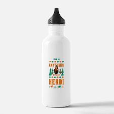 Ice Age Herd Water Bottle