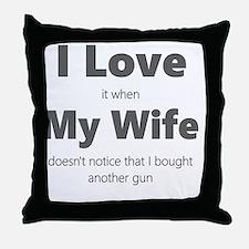 Funny Target Throw Pillow