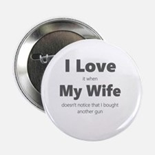 """Cute My wife 2.25"""" Button"""