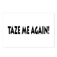Taze Me Again! Postcards (Package of 8)