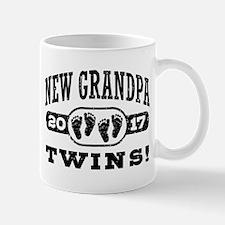New Grandpa Twins 2017 Mug