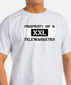 Property of: Telemarketer T-Shirt