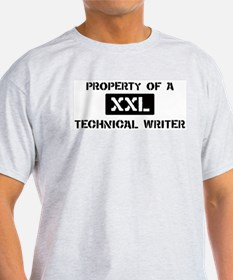 Property of: Technical Writer T-Shirt
