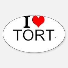 I Love Torts Decal