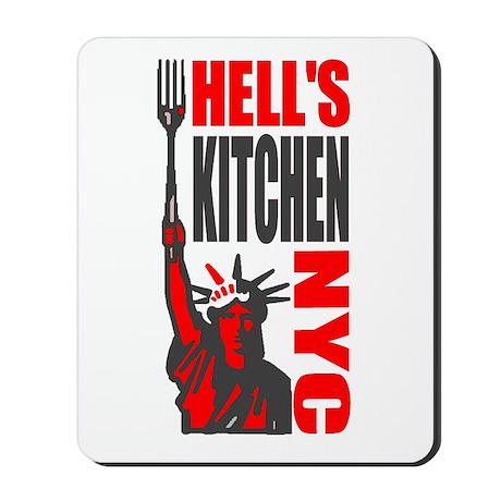 """Hell's Kitchen Shirt"" Mousepad"