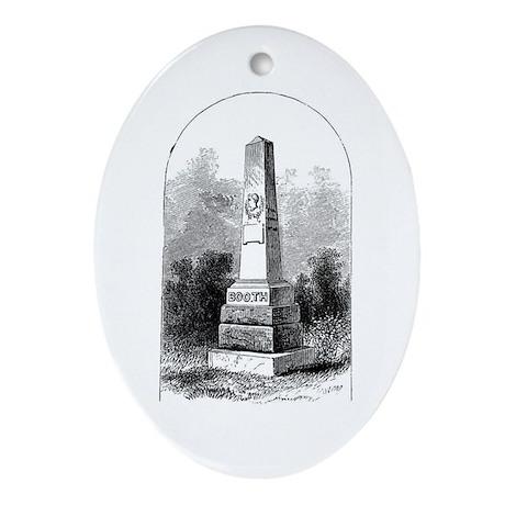 Cemetery Stuff Keepsake (Oval)