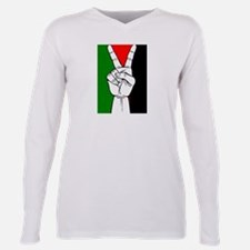 Cute Israel support Plus Size Long Sleeve Tee