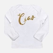 Golden Look Ciao Long Sleeve T-Shirt