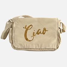 Golden Look Ciao Messenger Bag