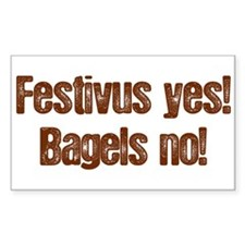 Festivus Yes Rectangle Decal
