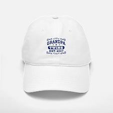 Grandpa Twins Est. 2017 Baseball Baseball Cap