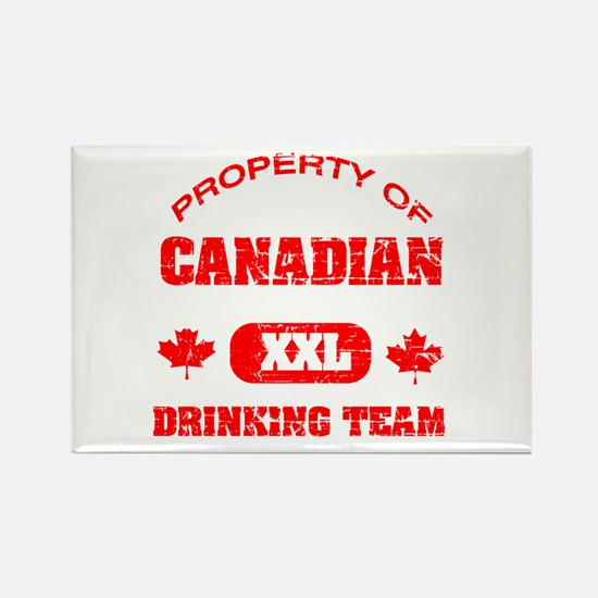 Canadian drinking team Rectangle Magnet