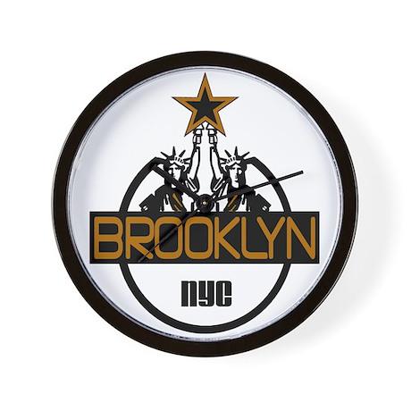 """Brooklyn Shirts"" Wall Clock"