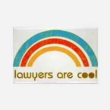 Lawyers Are Cool Rectangle Magnet
