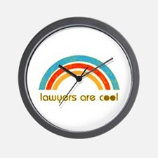 Lawyers Are Cool Wall Clock