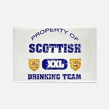 Scottish drinking team Rectangle Magnet