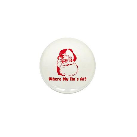 Hos At? Mini Button