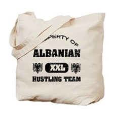 Albanian hustling team Tote Bag