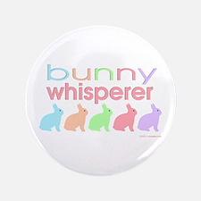 "Bunny Whisperer 3.5"" Button"