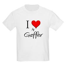I Love My Gaffer T-Shirt