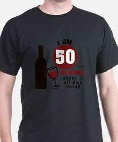 Cute Wine birthday T-Shirt