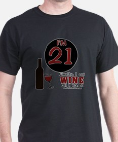 Unique Wine birthday T-Shirt