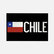 Chile: Chilean Flag & Chile Rectangle Magnet