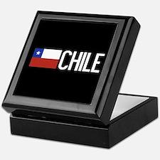 Chile: Chilean Flag & Chile Keepsake Box