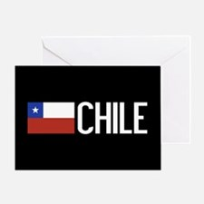 Chile: Chilean Flag & Chile Greeting Card