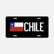 Chile: Chilean Flag & Chile Aluminum License Plate