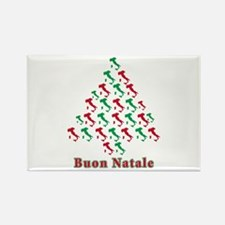 Buon Natale Rectangle Magnet (10 pack)