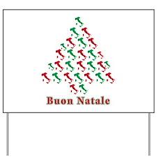 Buon Natale Yard Sign