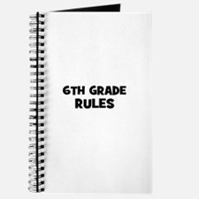 6th Grade Rules Journal