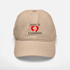 Jane is Timeless - Silhouette Baseball Baseball Cap