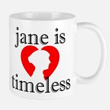 Jane is Timeless - Silhouette Mug