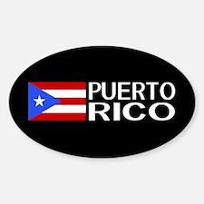 Puerto Rico: Puerto Rican Flag & Pu Decal