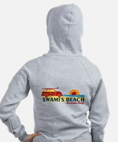 Encinitas - California. Women's Zip Hoodie