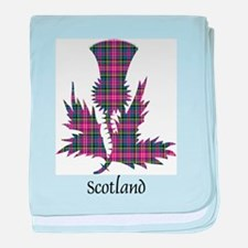 Thistle - Scotland baby blanket