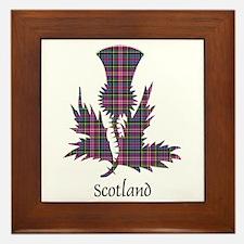 Thistle - Scotland Framed Tile