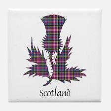 Thistle - Scotland Tile Coaster