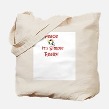 Peace...It's Simple Tote Bag