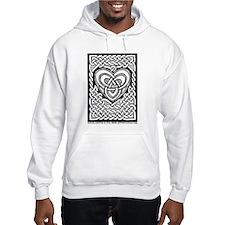 Celtic Knotwork Heart Hoodie